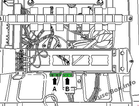 Fuse Box Diagram Volkswagen Crafter (2007-2015)