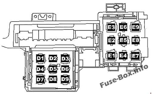 Fuse Box Diagram Volkswagen Touareg (2006-2010)