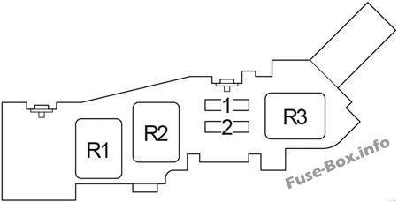 Fuse Box Diagram Toyota Avensis Verso / Ipsum (2001-2009)