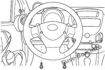 Fuse Box Diagram Toyota Aygo (AB10; 2005-2014)