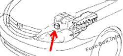 Fuse Box Diagram > Toyota Camry (XV30; 2002-2006)