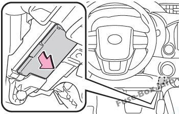 Fuse Box Diagram > Toyota Hilux (AN120/AN130; 2015-2019-..)