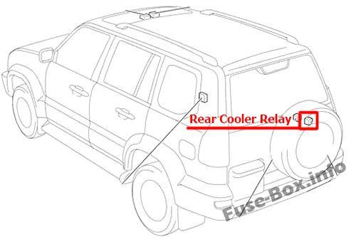 Fuse Box Diagram > Toyota Land Cruiser Prado (2002-2009)