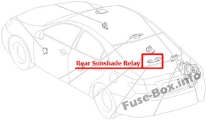 Fuse Box Diagram Lexus ES350 (XV40/GSV40; 2006-2012)