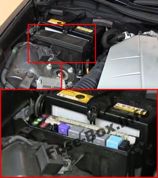 2008 Lexus Gs430 Engine Room Fuse Box Diagram