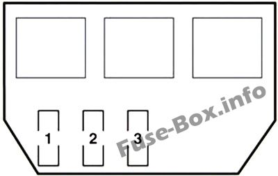 Fuse Box Diagram Lexus GS450h (S190; 2006-2011)