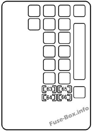 Fuse Box Diagram > Lexus SC430 (Z40; 2001-2010)
