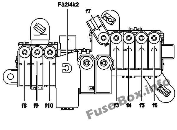 Fuse Box Diagram > Mercedes-Benz CL-Class /S-Class 2006-2014