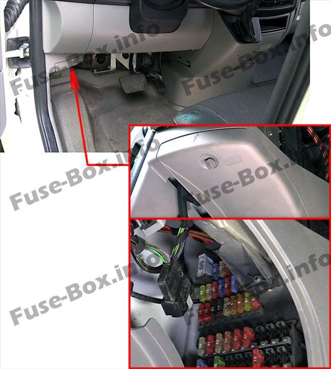Sprinter Fuse Box Diagram On Dodge Caliber 2007 Fuse Box Diagram