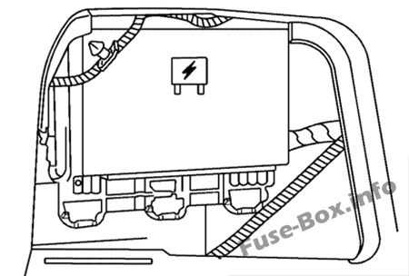 Fuse Box Diagram Saturn Aura (2006-2010)