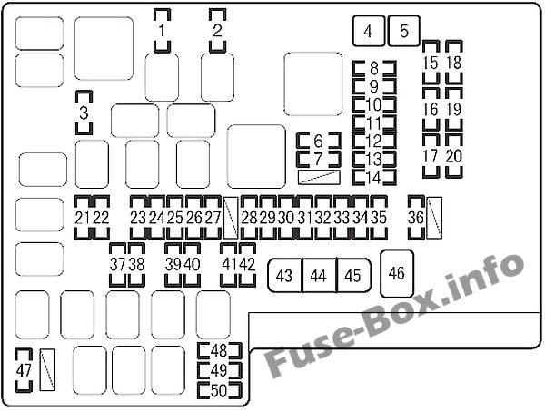 Fuse Box Diagram Scion FR-S (2012-2016)