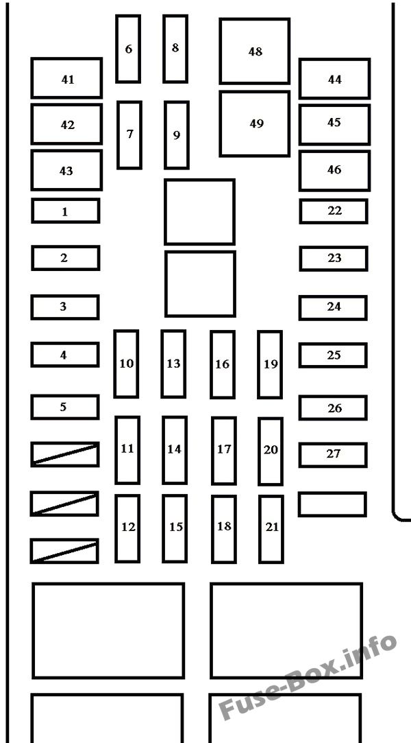 2005 toyota tundra fuse box diagram