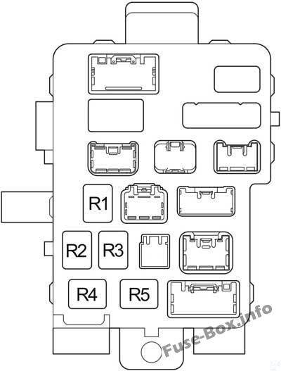 Fuse Box Diagram Toyota Tundra (2004-2006)