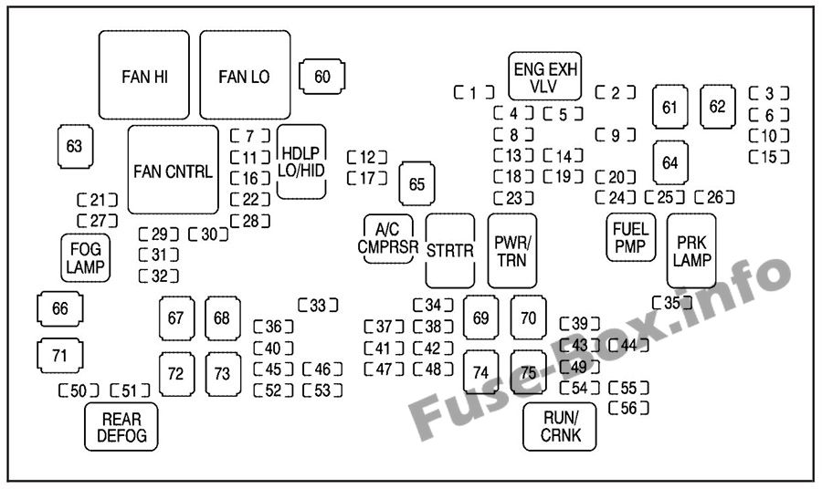 [DIAGRAM] Chevy Suburban Fuse Diagram FULL Version HD