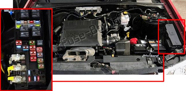 Ford Power Distribution Box Diagram Wedocable