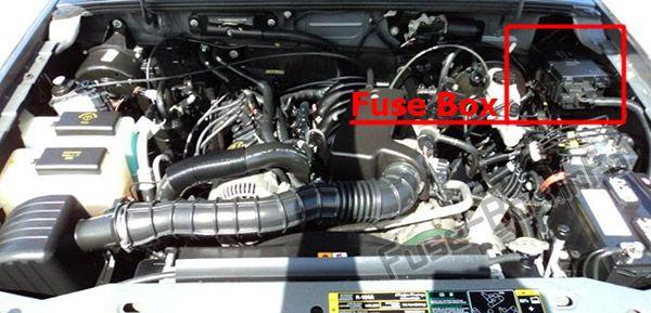 2003 Ford Ranger 2 3l Engine Diagram On 2003 Fuse Box Diagram Ford