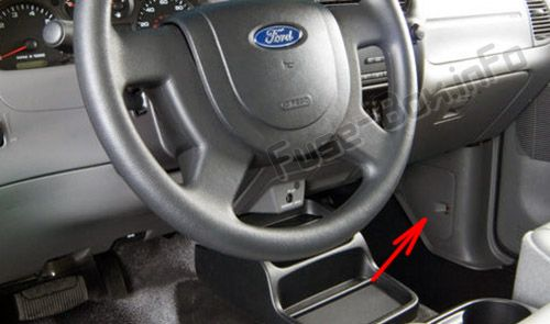 Ford Ranger Fuse Box Diagram In Addition 2003 Ford Ranger Fuse Box
