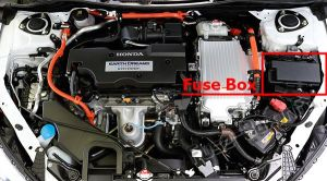 Fuse Box Diagram > Honda Accord Hybrid (20132017)