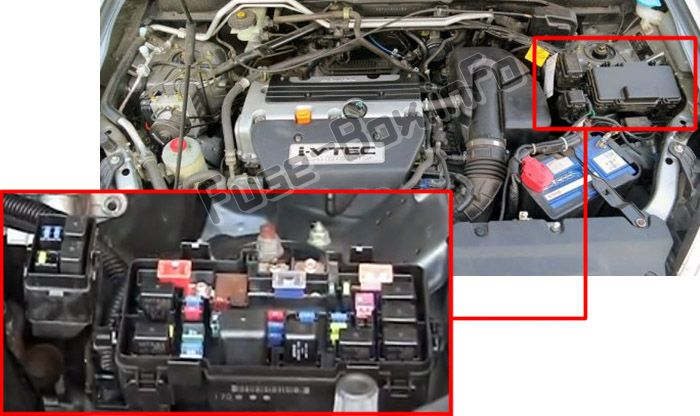 2001 Honda Cr V Fuse Box Diagram