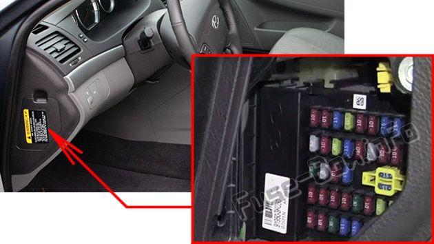 Diagram Engine Compartment Fuse Box Diagram Hyundai Sonata 2010
