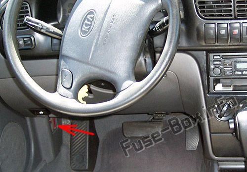 2001 Kia Sephia 2001 2004 Spectra 2001 Kia Sephia Fuse Box Diagram