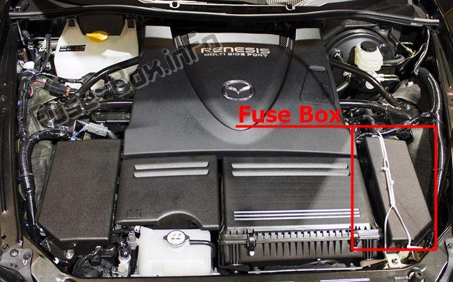 Diagrams Additionally 2009 Mazda 3 Fuse Box Diagram On Mazda Rx 8
