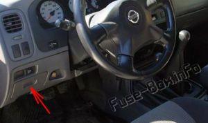 Fuse Box Diagram > Nissan Navara  Frontier (D22; 19972004)