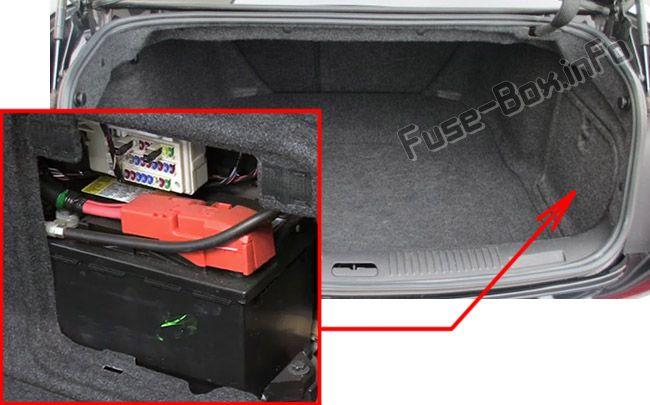 2012 Cadillac Cts Engine Fuse Box Diagram