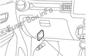 Fuse Box Diagram Suzuki Ignis (2016-2019-..)