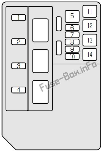 Fuse Box Diagram Suzuki Jimny (2000-2017)