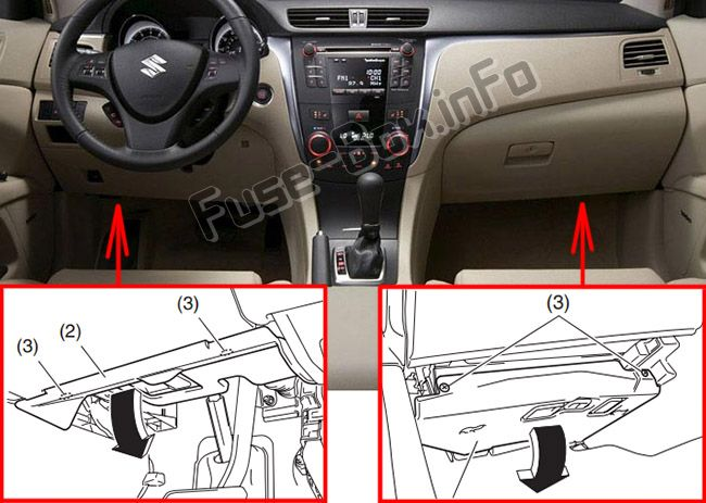 Be Under The Drivers Side Dash Here Is A Diagram Of The Fuse Box