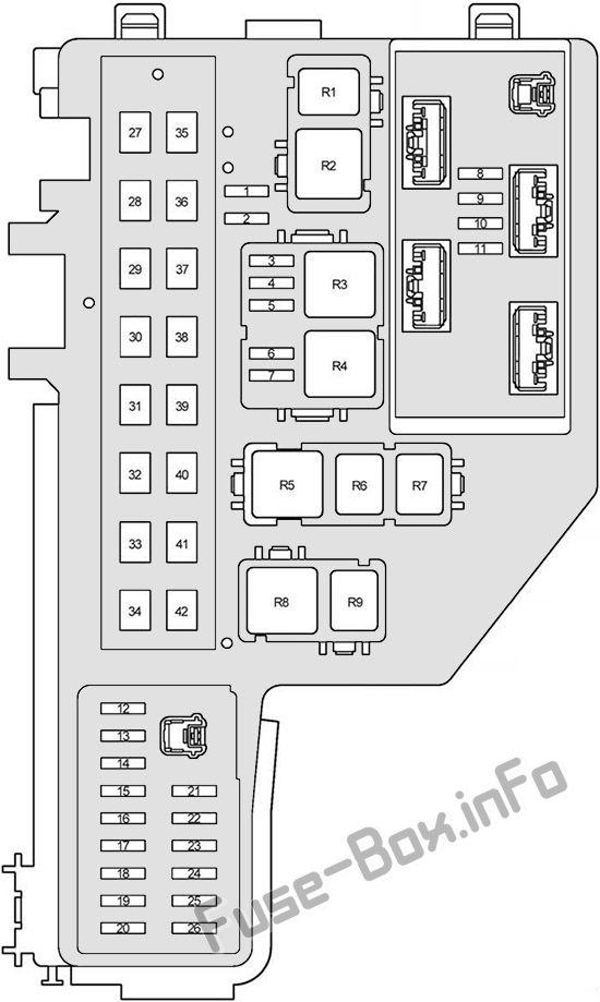 Fuse Box Diagram Toyota Prius Xw20
