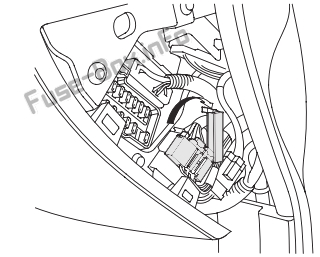 Fuse Box Diagram Acura CL (2000-2003)