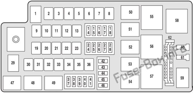 ford five hundred fuse box  wiring diagram seriescentrea