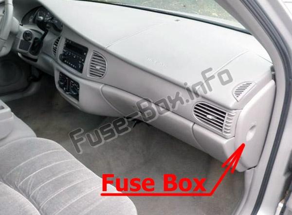 1998 Buick Century Fuse Box Diagram