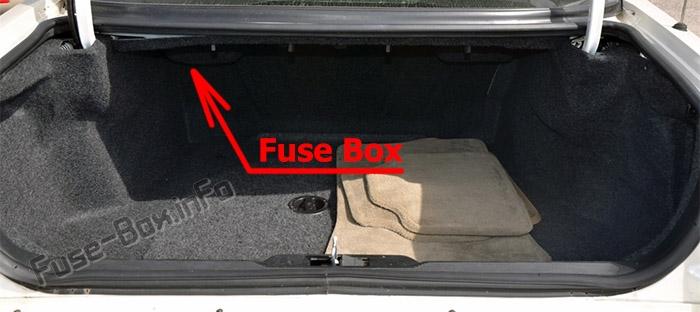 1995 Cadillac Etc Front Fuse Box Diagram