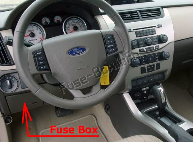Ford Focus Engine Partment Diagram On Where Is The Fuse Box On A Ford
