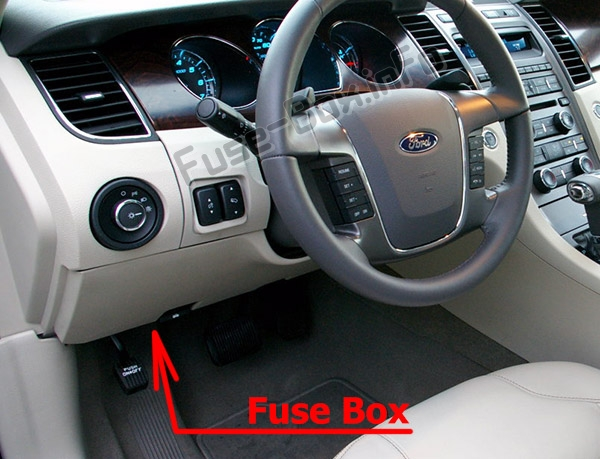 1999 Ford Taurus Fuse Box Diagram