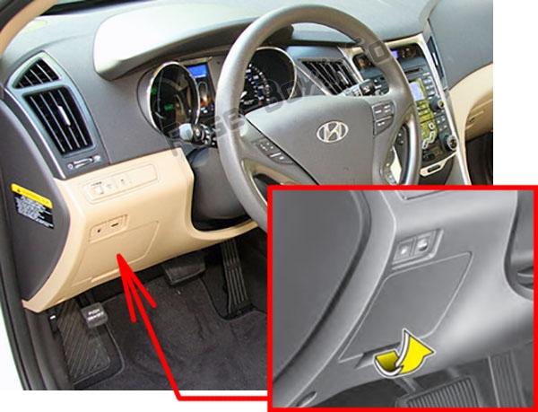 2013 Hyundai Sonata Fuse Box Diagram