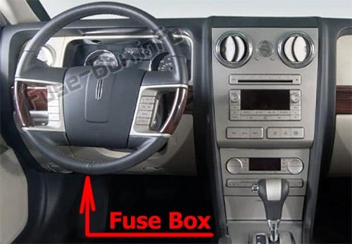 Lincoln Zephyr Fuse Box Power Distribution Box