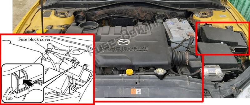 2003 Mazda 6 Engine Diagram