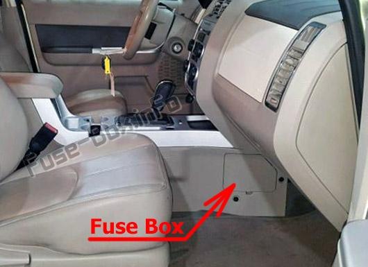 2008 Mercury Mariner Fuse Box Car Wiring Diagram