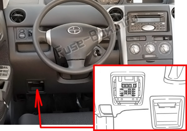 2012 Scion Fuse Box
