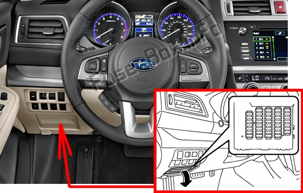 Subaru Outback Fuse Panel Location Get Free Image About Wiring