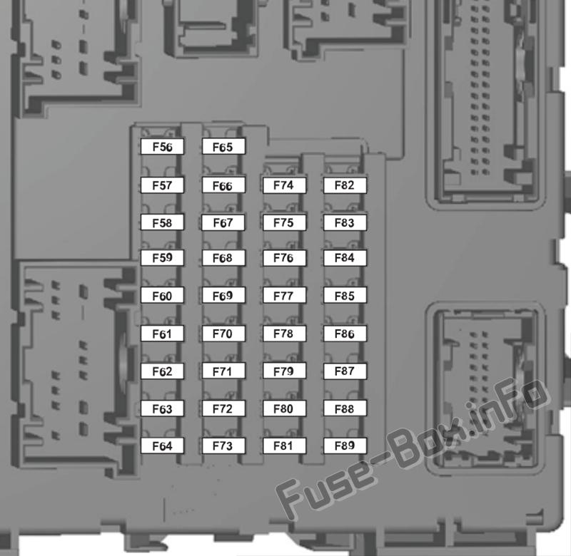 1998 Ford Ranger Main Fuse Box Diagram