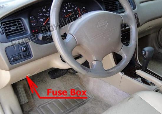 1998 Nissan Altima 4 Cyl Fuse Box Diagram