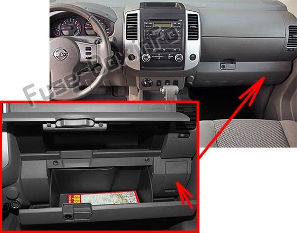 2005 Datsun Frontier Fuse Box Diagram
