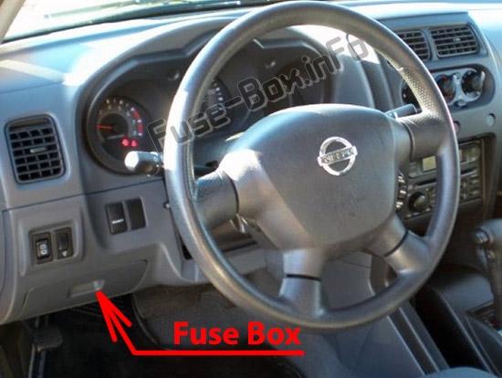 1999 Nissan Altima4 Main Fuse Box Diagram