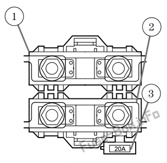 Fuse Box Diagram Lincoln Navigator (1998-2002)