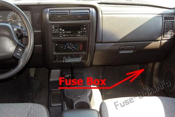 Jeep Liberty Fuse Panel
